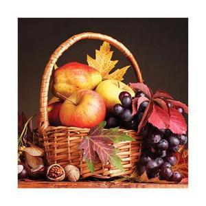 Салфетка бумажная 33*33 см (3 слоя) Autumn Basket