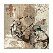 Салфетка бумажная 33*33 см (3 слоя) My Old-Fashioned Bike