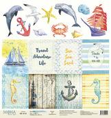 Бумага Cards1 Sea party