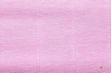Бумага гофрированная  Италия  50см х 2,5м 180г/м2 розовая