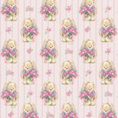 Упаковочная бумага ЗайкаМи Букет цветов,  674*974мм