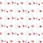Упаковочная бумага ЗайкаМи Вишенка,  674*974мм
