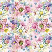 Упаковочная бумага ЗайкаМи Полевые цветы,  674*974мм