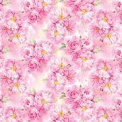 Упаковочная бумага ЗайкаМи Цветущие пионы,  674*974мм