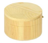 """Заготовки для декорирования """"коробка"""" дерево 4х6.5 х  6.5 см"""
