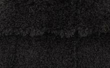Плюш,  черный. 48х48 см,