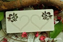 Сердечик с цветами