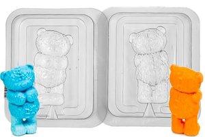 """Пластиковая форма 3D  """"Медведь Тедди"""""""