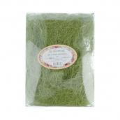 Сизалевое волокно   20 г т.зеленый