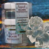 «LIQUID GLASS» на основе эпоксидной смолы, 100мл + 50мл