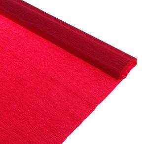 Бумага крепированная бордовая, 50*250см, в рулоне