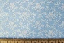 "Ткань ""Розы"" голуб., 40х50"