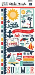 Стикеры Summer Adventure Sticker Sheet
