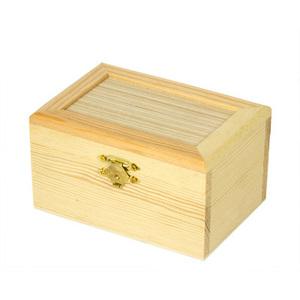 """Заготовки для декорирования  PP-003 """"коробка"""" дерево 6.8 х 8.3 х 12 с"""