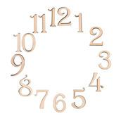 """Заготовки для декорирования цифры """"Изящные"""" фанера 2.4 см"""