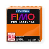 Полимерная глина, запекаемая в печке FIMO professional, оранжевый, 85 гр.