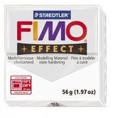 Полимерная глина, запекаемая в печке, прозрачный,FIMO Effect Transparent White, 56 гр.