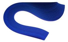 Бумага для квиллинга, синий ультрамарин, ширина 3 мм