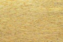 Бумага гофрированная металл, 50см х 2,5м, 140г/м2 цв.911 золото