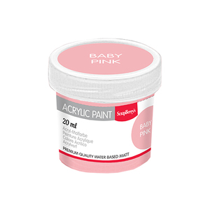 Акриловая краска Детский розовый, 20 мл