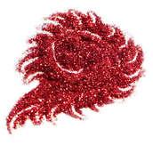 Блестки цветные металлик  25 гр.  Красный