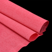 Бумага гофрированная Италия 50см х 2,5м 180г/м2 цв.571 розово-персиковый
