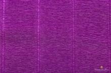 Бумага гофрированная Италия 50см х 2,5м 180г/м2 фиолетовая