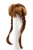 Волосы для кукол   (косички) d 9см L 24см