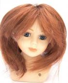 Волосы для кукол   П30 (прямые), L15см, d5,5см