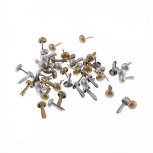 Набор брадсов 4.5 * 8 мм 50шт под золото, под серебро