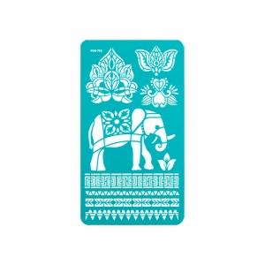 "Трафареты на клеевой основе 11.5х20.5 см ""Лотос"""