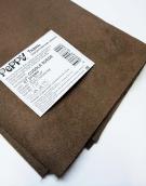 Искусственная замша CUDDLE SUEDE brown (коричневый) 35х50 см 230±5 г/кв.м 100% полиэстер