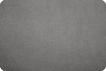 Искусственная замша  CUDDLE SUEDE charcoal (серый) 35х50 см 230±5 г/кв.м 100% полиэстер