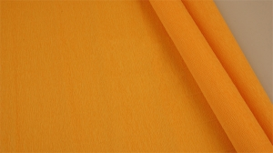 Бумага гофрированная Италия 50см х 2,5м 140г/м2  желтый