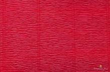 Бумага гофрированная Италия 50см х 2,5м 140г/м2 карминно-красный