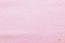 Бумага гофрированная Италия 50см х 2,5м 180г/м2  светло-розовая