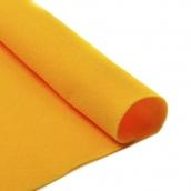 Фетр листовой мягкий  1мм 20х30см апельсин 1шт
