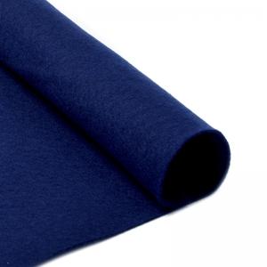 Фетр листовой мягкий 1мм 20х30см  т.синий 1шт