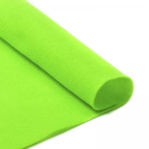 Фетр листовой мягкий  1мм 20х30см  салатовый 1шт