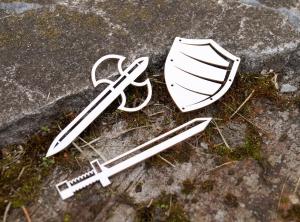 Мечи и щит