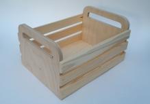 Реечный ящик средний Длина 25 см, ширина 17, высота 12 см.