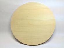 Заготовка под часы, диаметр 30 см  фанера толщиной 6 мм