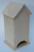 Чайный домик глухой 9х9х22см, размер основания 11х11 см.