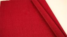 Бумага гофрированная Италия 50см х 2,5м 140г/м2 бордовый