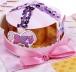 """Коробочка с пожеланиями своими руками """"Карусель"""" розовая, 3 листа с элементами + декор"""
