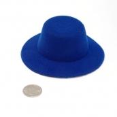 Шляпа  круглая 10см цв.синий