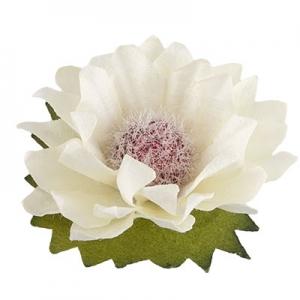 "Цветы ""Ваниль"" белый 8шт"