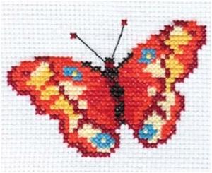 "Набор для вышивания  ""Бабочка"" 10х7см"