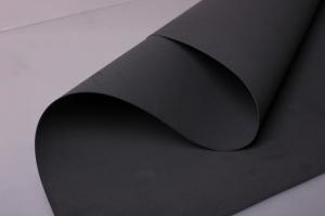 Фоамиран 022-BLACK (чёрный/195) 60*70см