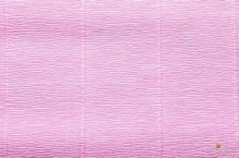 Бумага гофрированная Италия 50см х 2,5м 140г/м2  розовая